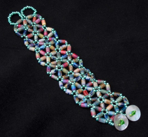 One of the nicer things I've made with beads I didn't know what to do with. $40.