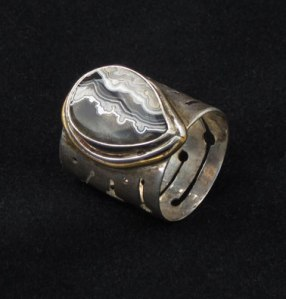 Wicked Cool Agate Ring